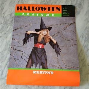 Kid's Witch Halloween Costume